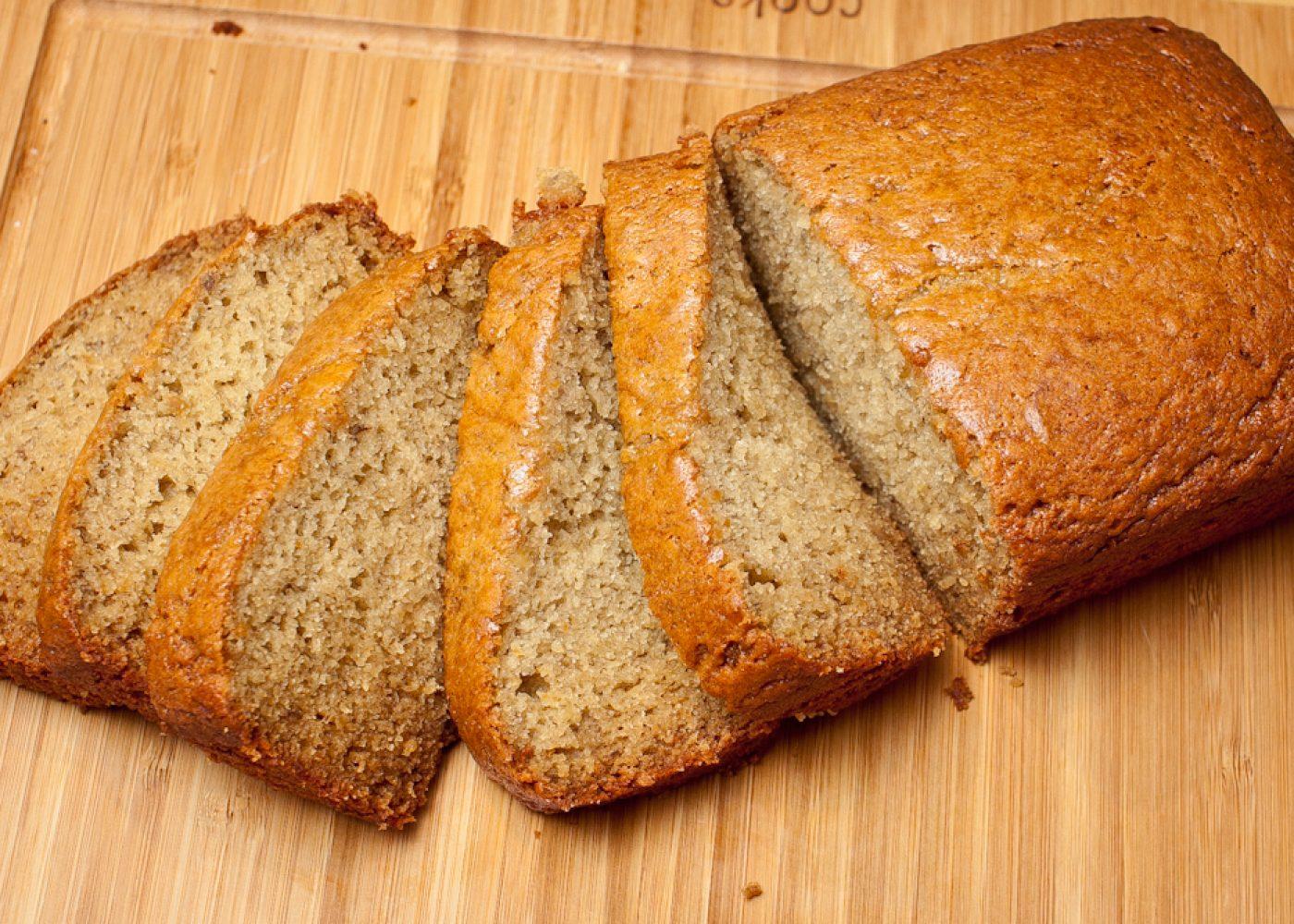 (Faux) Buttermilk (Real) Banana Bread