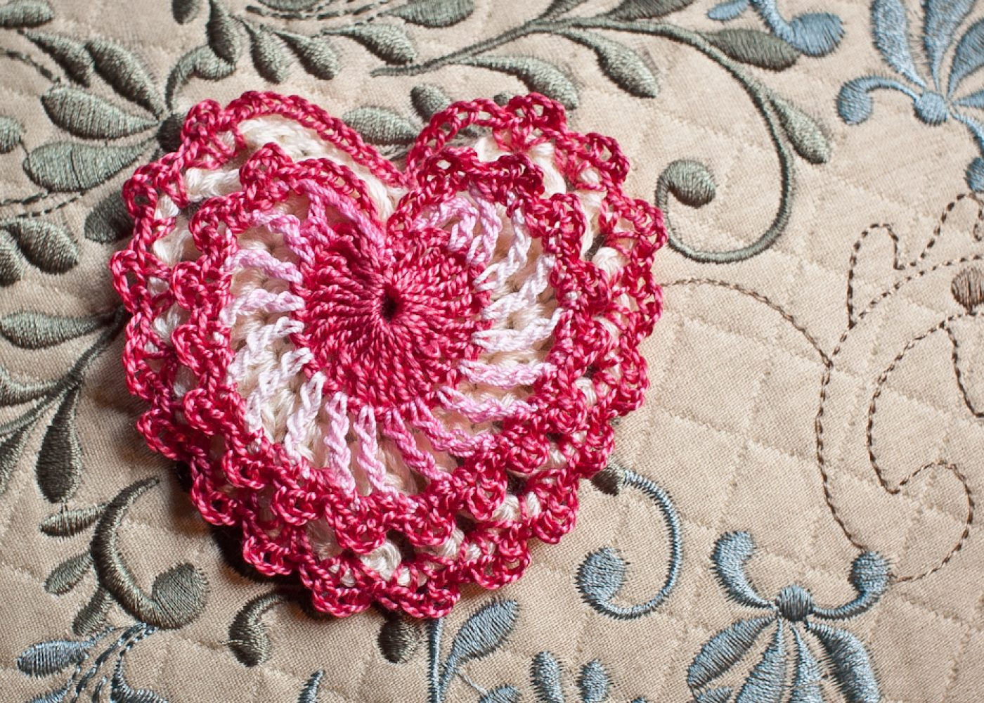 Elegant Heart Pattern