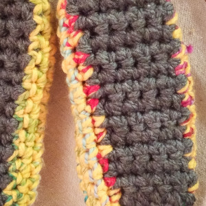 Ugly Slippers Crochet Pattern