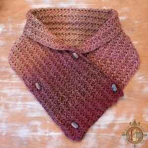 Free Scarf Pattern for the Blackstone Designs Crochet Charity Drive