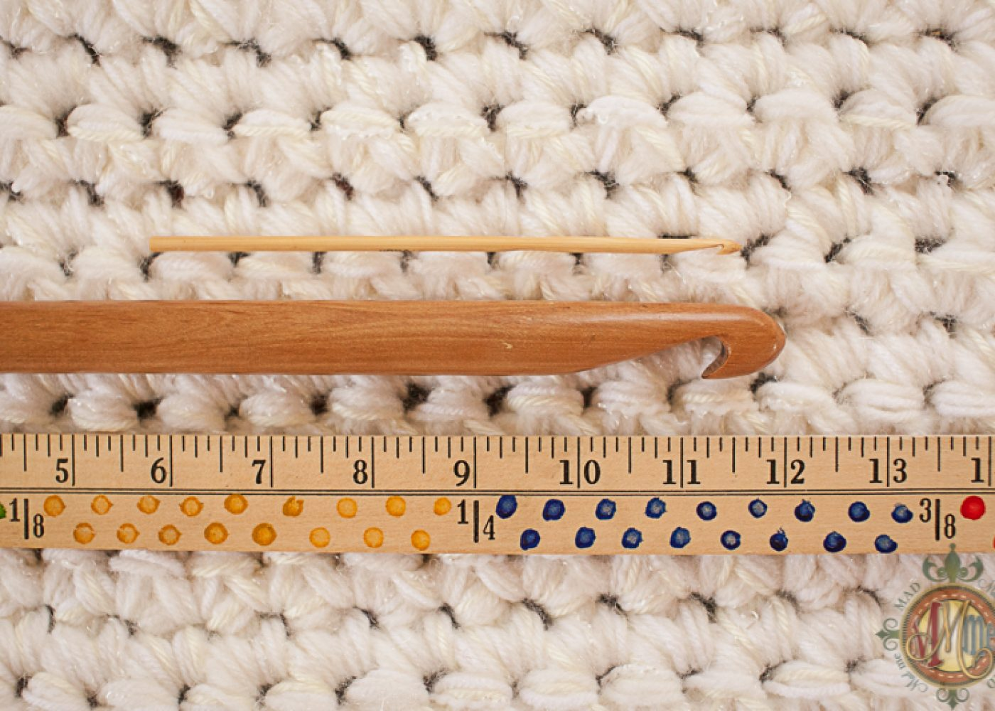 Erasing Monday with Giant Crochet