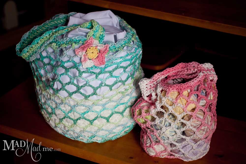 Mad Market Bag Pattern-Small and Large – Madlandia