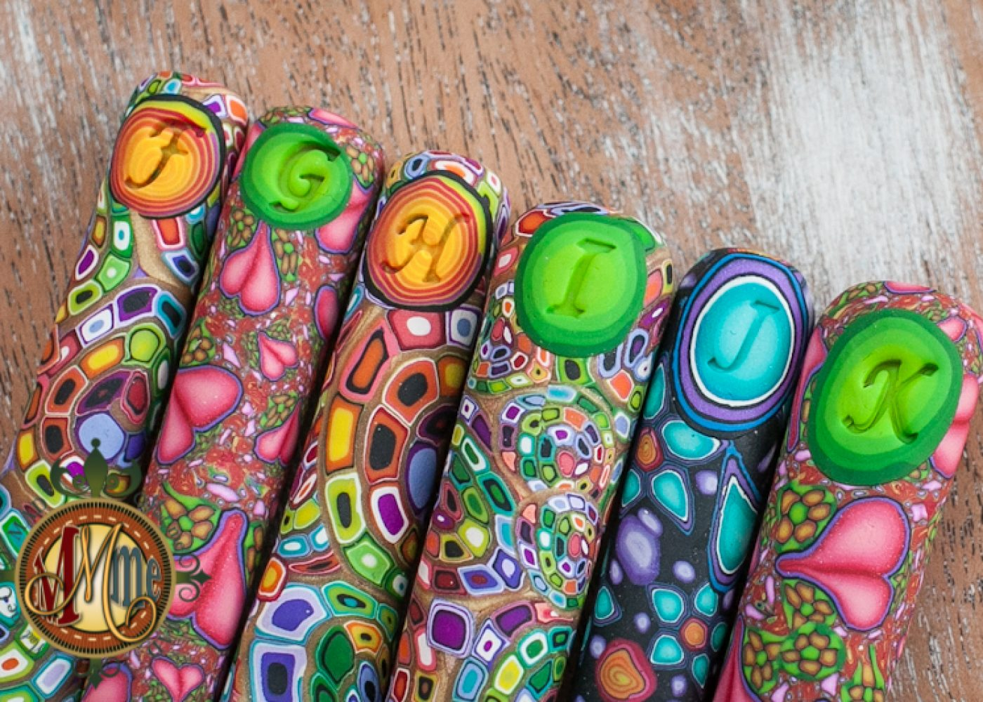 Polymer Clay and Millefiori