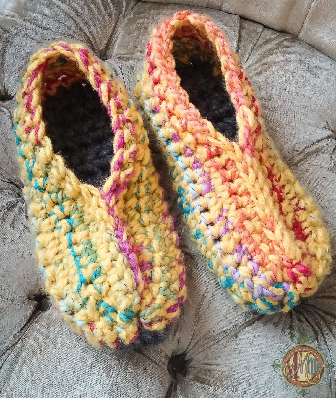 Ugly Slippers Crochet Pattern Madlandia